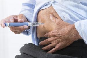 Injection Insuline Senior